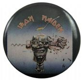 Iron Maiden - 'Can I Play With Madness' Button Badge